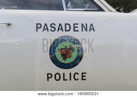 Dodge Coronet Police Emblem