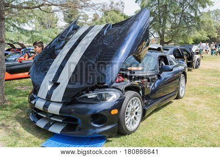 Dodge Viper Gts On Display