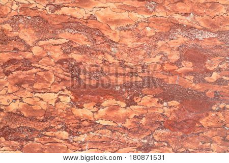 red marble texture natural stone pattern background
