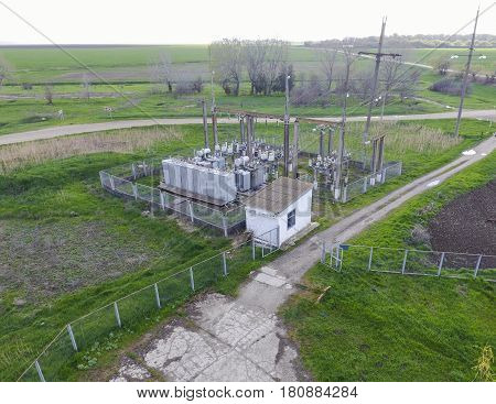 Electrical Substation For Power Supply To An Industrial Facility