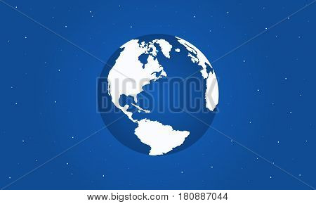 Collection stock of world day style vector illustration