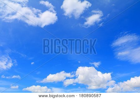 blue sky withcloud and raincloud art of nature beautiful and copy space for add text
