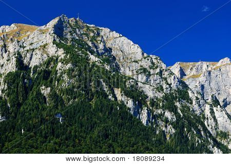 Bucegi Mountains Panorama, Carpathian Ridge