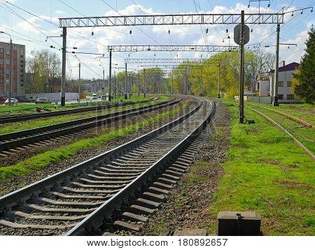 Railroad Zone Landscape