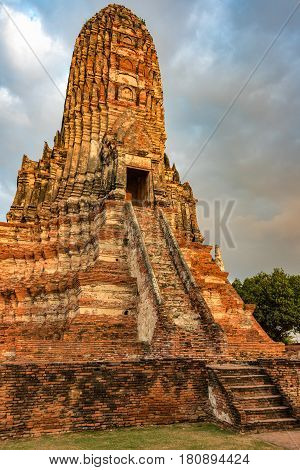 Ancient Ruins Of Buddhist Temple