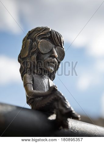 Mini Statue Of Jon Lord