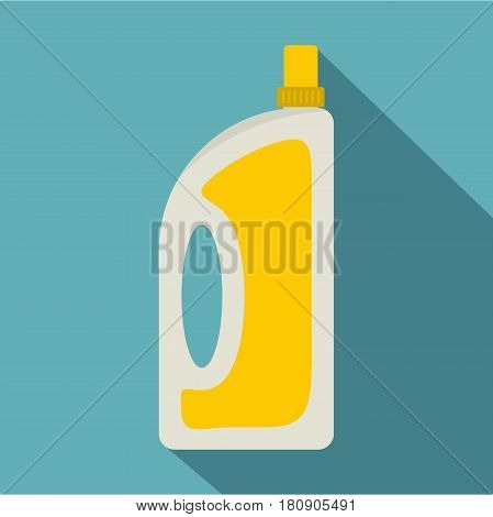 Bottle of conditioning or detergent icon. Flat illustration of bottle of conditioning or detergent vector icon for web