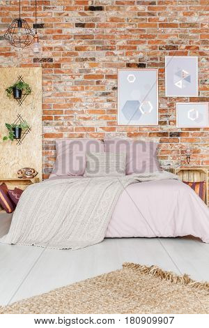 Bedroom With Pink Additions