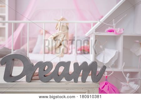 Pink Room Of Girl's Dreams