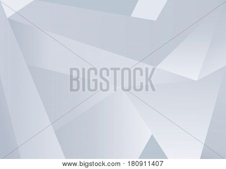 Background with abstract architectural constructions of light concrete. Vector graphics