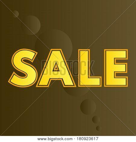 Advertising banner sale. Vector illustration. gift, hanger,