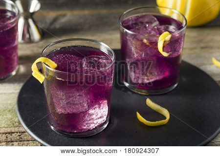 Homemade Purple Haze Cocktail