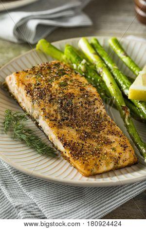 Organic Pan Seared Salmon