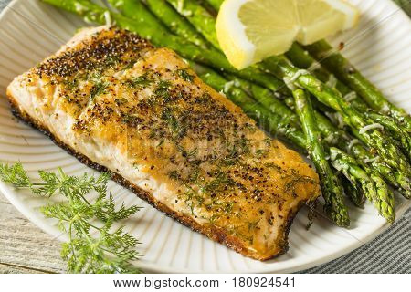 Organic Pan Seared Salmon
