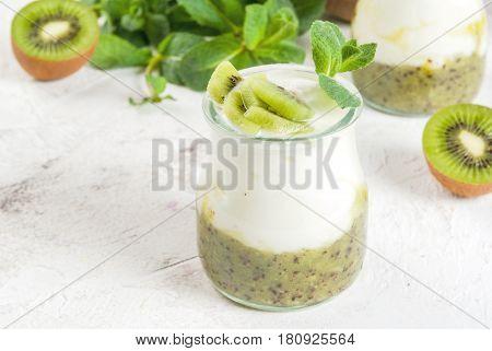 Yogurt With Kiwi