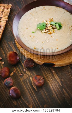Chestnut Cream Soup