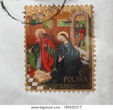 Stamp Of Poland
