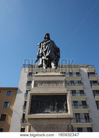 Garibaldi Monument In Como