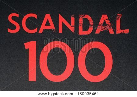 LOS ANGELES - APR 8:  Scandal 100 Atmosphere at the
