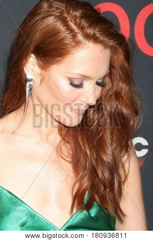 LOS ANGELES - APR 8:  Darby Stanchfield at the
