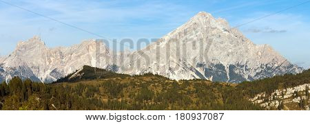 Monte Antelao South Tirol Alps Dolomites mountains Italy