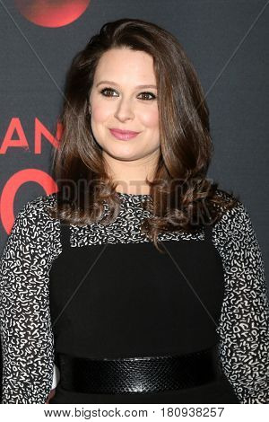 LOS ANGELES - APR 8:  Katie Lowes at the