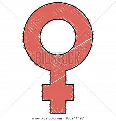 femenine symbol isolated icon vector illustration design