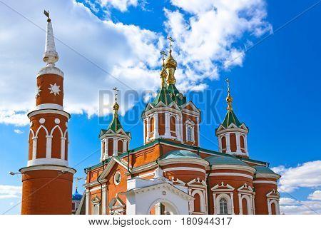 Uspensky Brusensky monastery in the Kolomna Kremlin - Russia - Moscow region