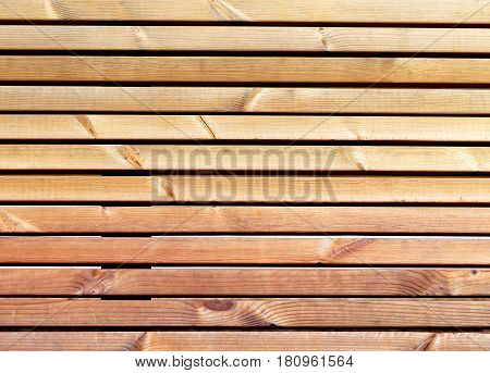 Photo texture of a wooden coating illuminated by the sun