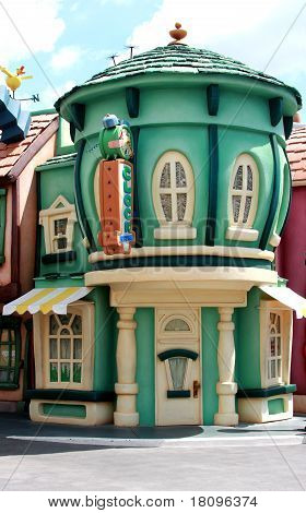 Disneyland Mickey's Toontown