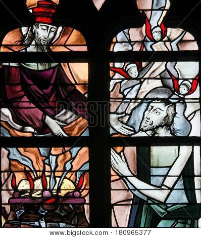 Stained Glass - Jesus Christ