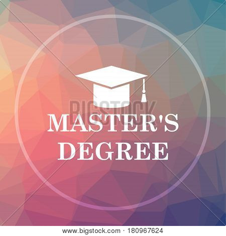 Master's Degree Icon