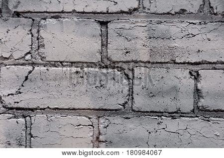 Close up on brickwall vintage grunge background