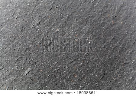 A macro photo of a slate surface of Ordovician age.