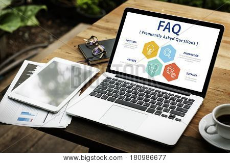 Faq Question Information Helpdesk Graphic Word