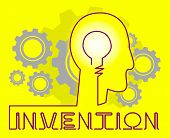 Invention Brain Means Innovating Invents And Innovating poster