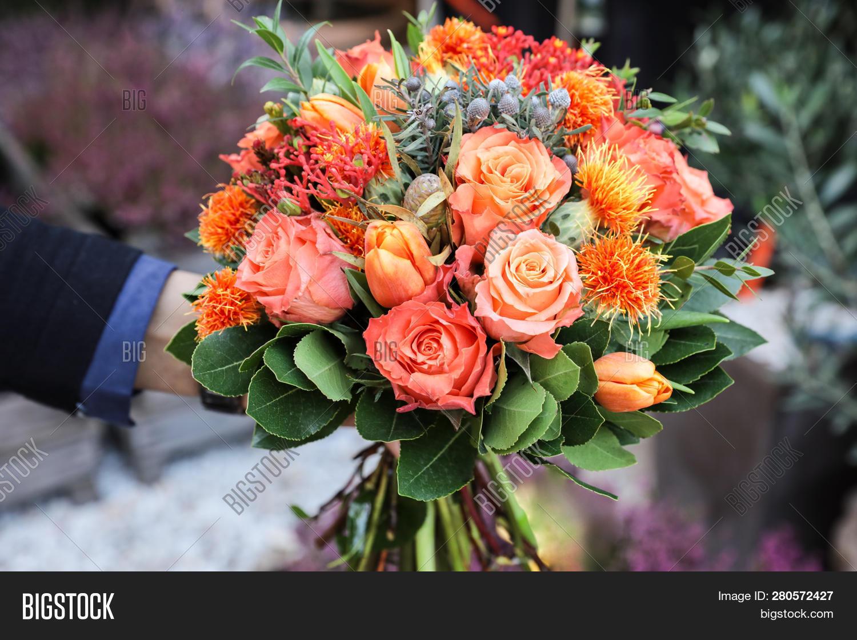 Beautiful Bouquet Image Photo Free Trial Bigstock
