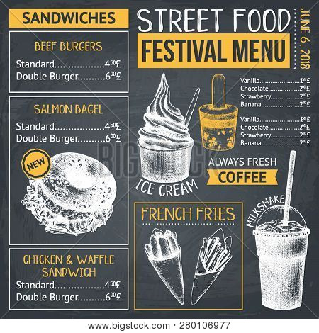 Food Festival Menu Design 15