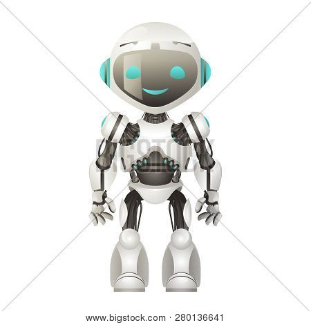 Technology Mechanical Artificial Intelligence Future Robot Scifi Science Fiction 3d Design Vector Il