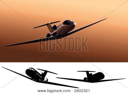 Vector Light Commercial Jet