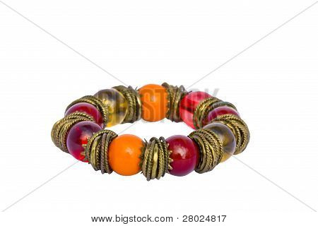 Beads And Rings Bracelet