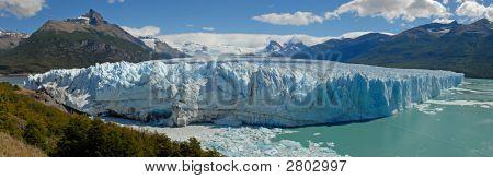 The Perito Moreno Glacier In Patagonia, Argentina.