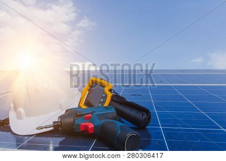 Ppe And Equipment For Maintenance Solar Systems