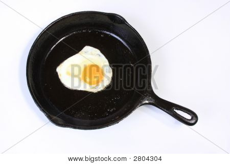 Egg In The Frying Pan