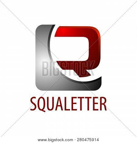 Square Initial Letter R Logo Concept Design. 3d Three Dimensional Style. Symbol Graphic Template Ele