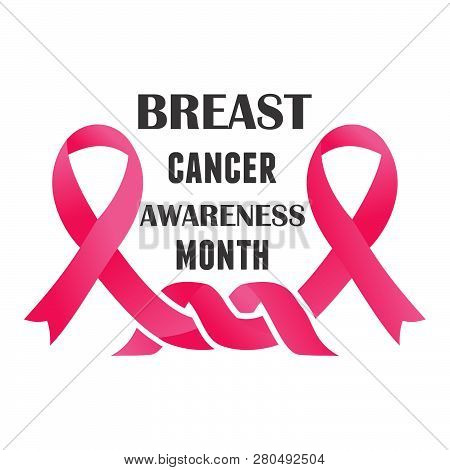 Cancer Day Concept. World Awareness Ribbon Of Cancer. Preventive Health Care. Campaign Day Of Cancer