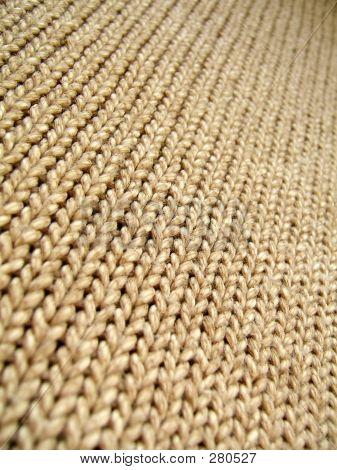 Brown Wool Infinity