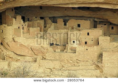 Cliff Palace Native American dwelling