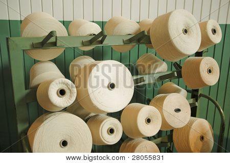 Boott Cotton Mills cotton spools