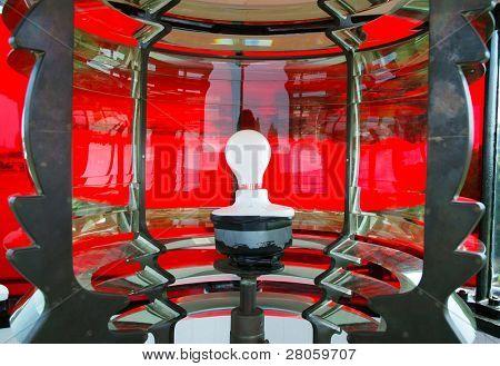 Calvert Marine Museum lighthouse frensel lens